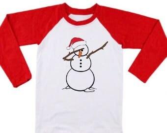 Dab snowman