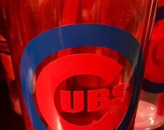 Red Cubs Tumbler Cup