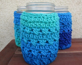 Mason Jar Cozy: set of 3