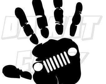 Jeep Wave Decal (available in a variety of colors)