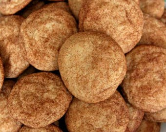 Snickerdoodles Cookies/  2 Dozen/ Homemade Cookies/ Buttery Sugar & Cinnamon/ Holiday Cookie/Party Cookie/ Gift Giving/Easter Cookies