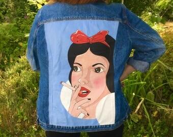 Smoking snow white