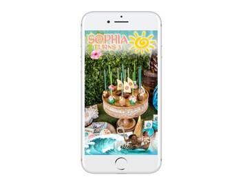 Moana Snapchat Geofilter