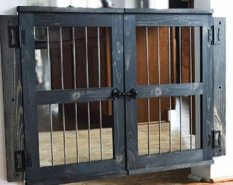 Baby Gate - Dog Gate - Pet Gate - Wooden Gate - Stair Gate - Safety Gate - Barn Door - Double Door - Rustic Gate - Wood Gate