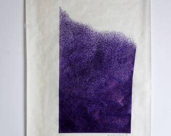 original drawing, pen and ink, abstract, wall decor, large, fine art