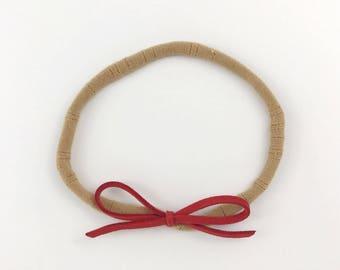 Faux Suede Headband