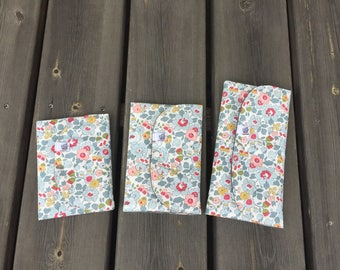 Pouch / passport and tickets in Liberty betsy cotton range