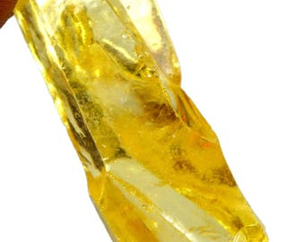 183.35 Ct. Uncut Cambodian Yellow Zircon Gemstone Rough- Best Offer !!!