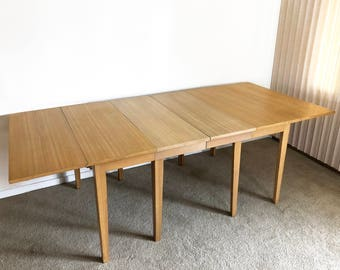 Edward Wormley Drexel Precedent extension dining table mid century
