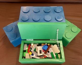 Lego storage boxes (sold individually)