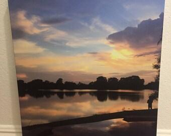 Texas sunset canvas