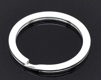 1 round 30 mm key ring
