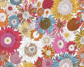 Fabric flower, liberty, LIBERTY susanna