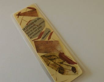 Marque-Pages - Signet - Modèle plastifié - 14,5 cm