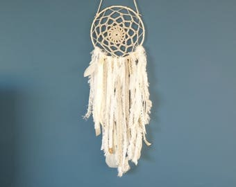 DreamCatcher, dream cather white, taupe / wall decor, living room