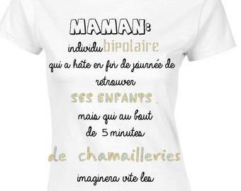 Mothers day gift MOM humor tshirt birthday