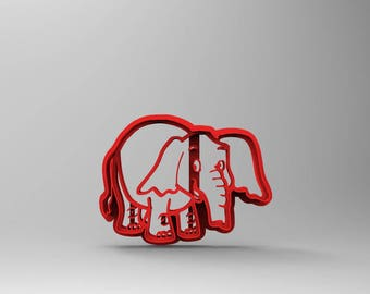 Funny Elephant With Stamp