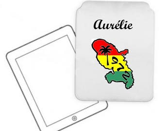 Cover for tablet pc Martinique personalized with name