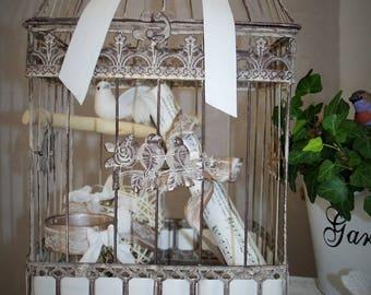 Bird cage as a decor item!