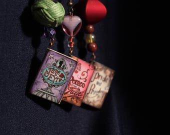 Literary Lovers Earrings