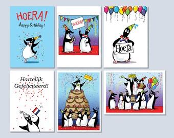 Congratulation Penguins (Dutch)