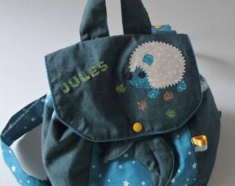 Customizable nursery backpack
