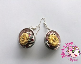 ROSES 21 CAPSULES - ROSE 8 COLLECTION EARRINGS