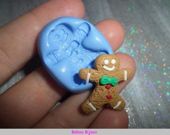 New and Rare! 2.5 cm gingerbread cookie mold