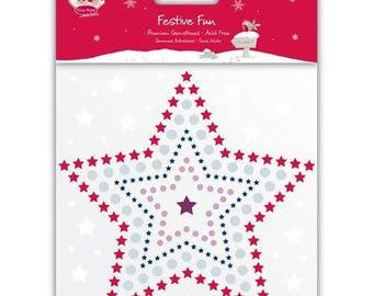 Adhesive gems rhinestones Christmas Fizzy Moon - 000551