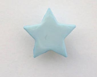 Set of 6 x 14mm - 001654 star buttons