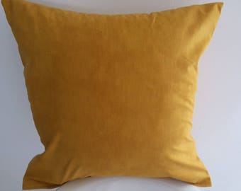 Yellow cushion moiré; 100% cotton