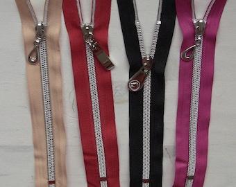 Zip up zipper bag 30cm slider solid special