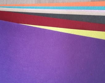 Felt X 8 color A4