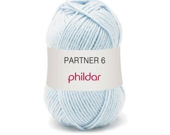 phildar wool partner wool 6 color sky