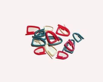 Accessoire de tricot- anneaux marqueurs