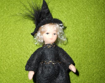 Miniature Witch doll