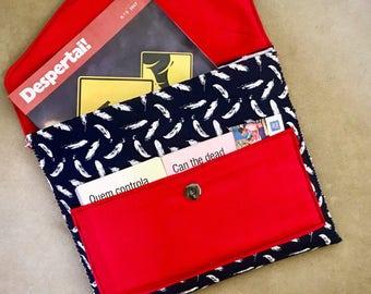 jw ministry organizer tract holder pouch bag service folder magazine clutch - Field Service Organizer