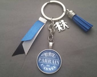 """Keyring """"elected sponsor of the year"""" by lolaclarabijoux"""