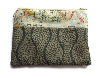 Pencil Case, Multi-use Bag, Toiletries Pouch, Documents Holder, Fully Lined, Zippered, Unisex