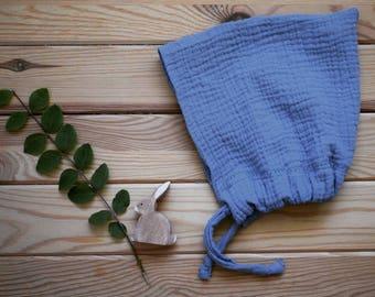 Muslin Pixie Bonnet