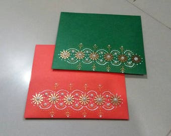 Hand craft paper envelopes