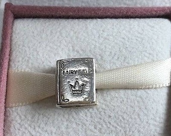 Genuine Pandora Fairy Tales Book Charm 791109