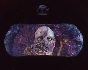 Return of the Living Dead inspired Zombie Containment Drum custom made by DRK Studios