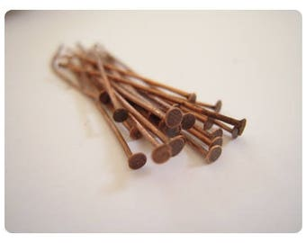 50 nails 40mm - color copper