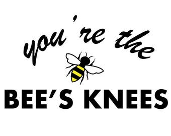 You're the Bee's Knees Mug (Gold)