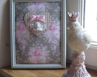 """Frame romantic bouquets of roses """"dreamy Angel"""""""