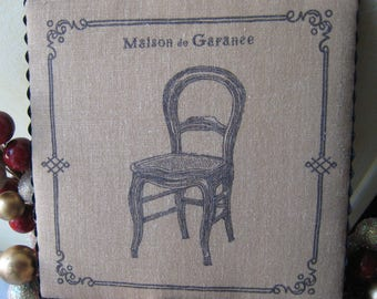 """Stylish fabric very country chic """"House of madder"""" frame: the Chair"""