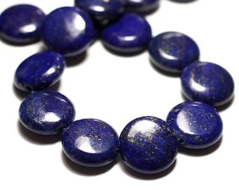Stone - Lapis Lazuli 20mm - 4558550035721 puck bead 1pc-