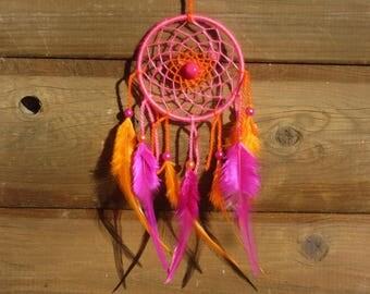 Catch dreams Fuschia and Orange / real 30 cm