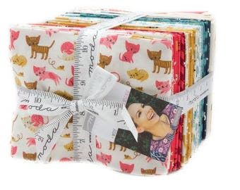 Woof Woof Meow Fat Quarter bundle from Moda